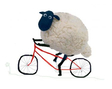 Sheep bicycles