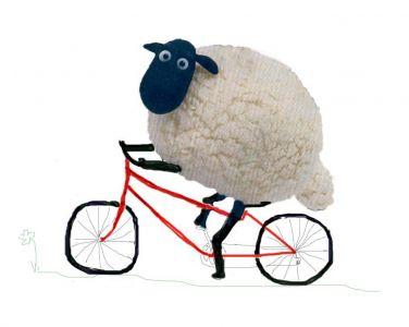 Sheep bicycles