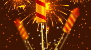 Diwali fire-crackers